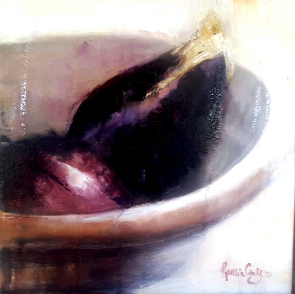 """Aubergine"" original fine art by Rentia Coetzee"