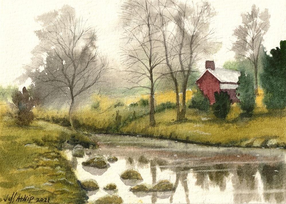 """Virginia Farmland"" original fine art by Jeff Atnip"