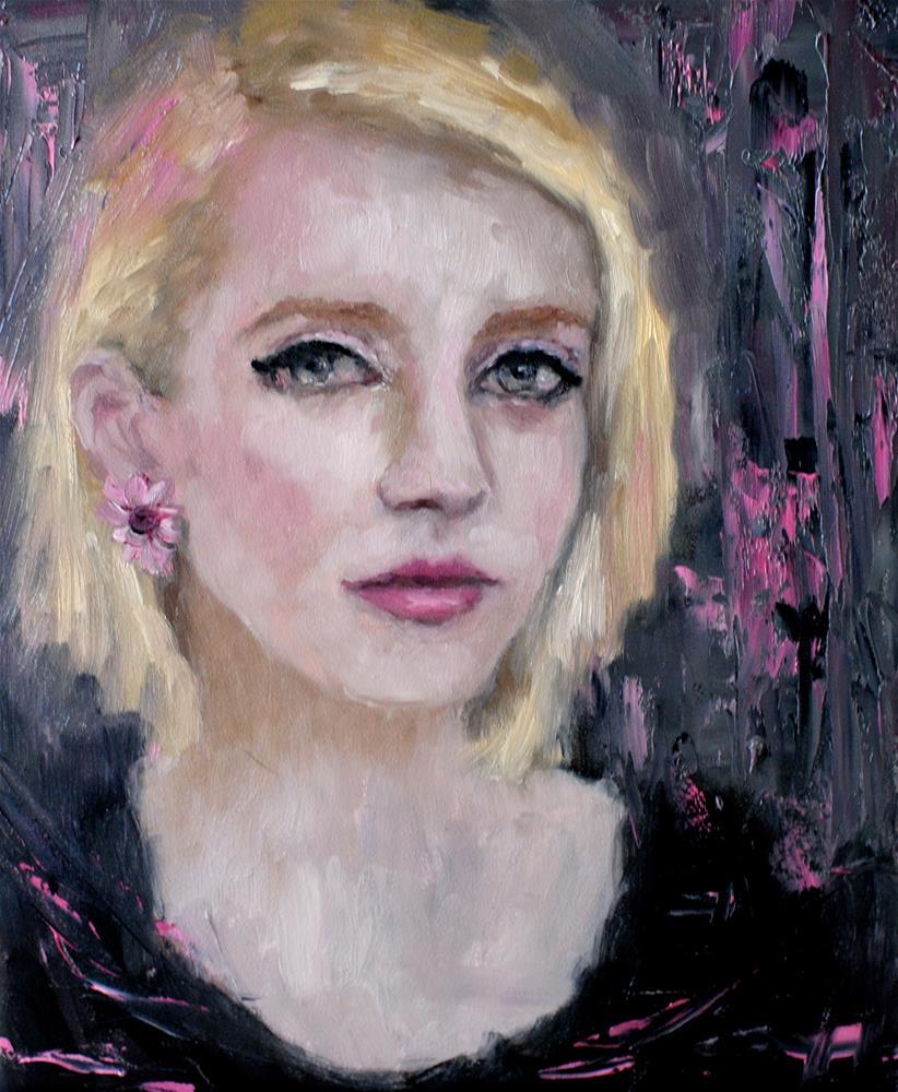 """Britta 2"" original fine art by Kelly Berkey"