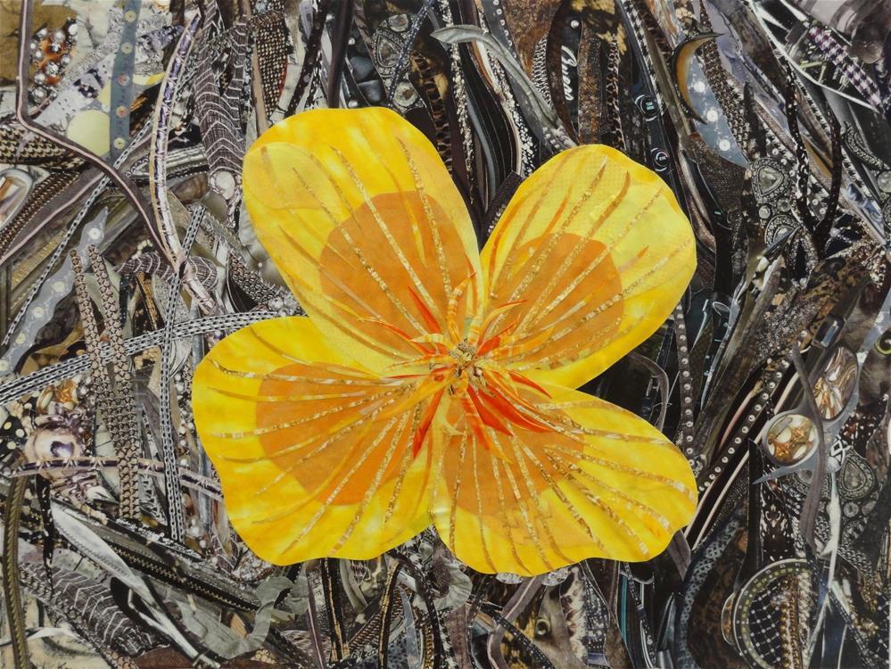 """Copa de Oro"" original fine art by Cynthia Frigon"