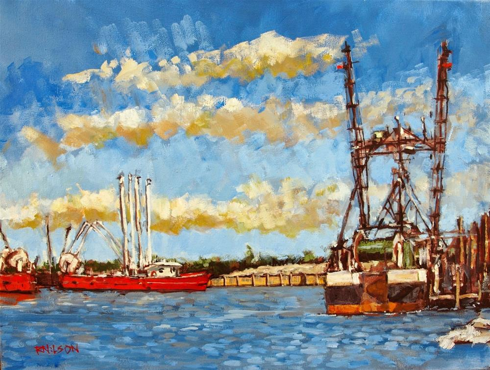 """Mount Oyster"" original fine art by Rick Nilson"