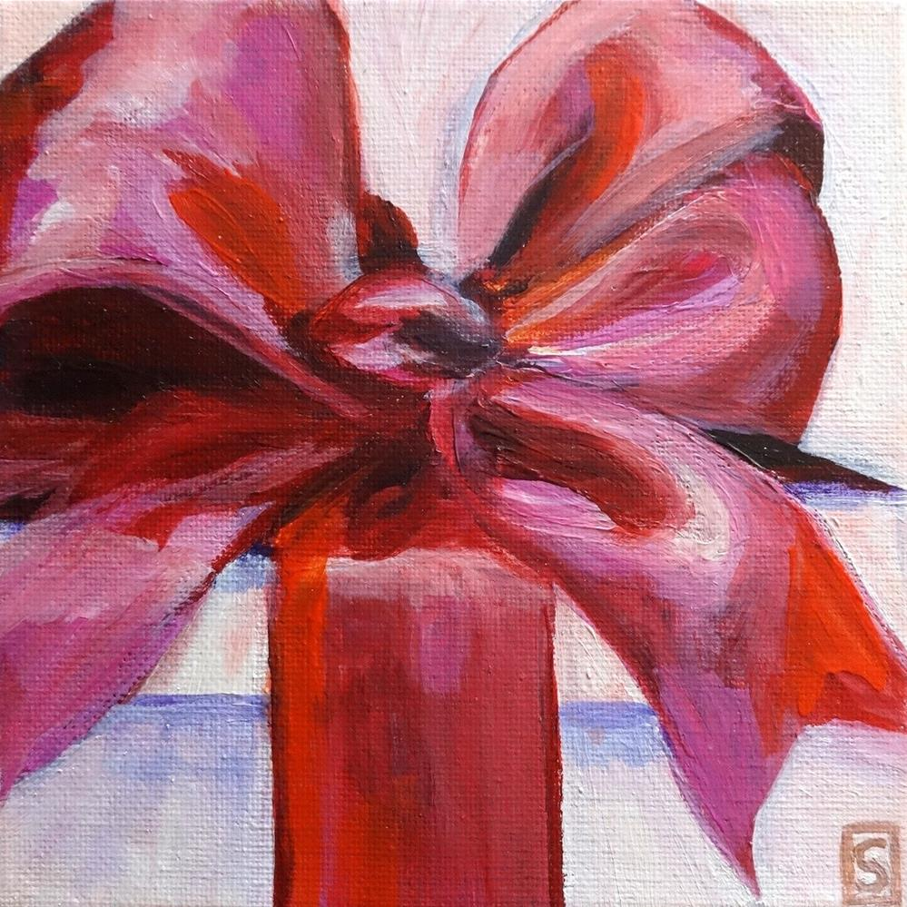 """5026 - Marsala Satin"" original fine art by Sea Dean"