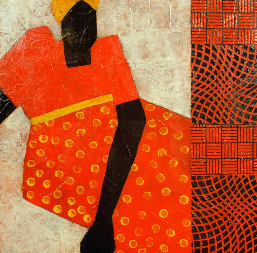 """Madame"" original fine art by Sue Robertson"
