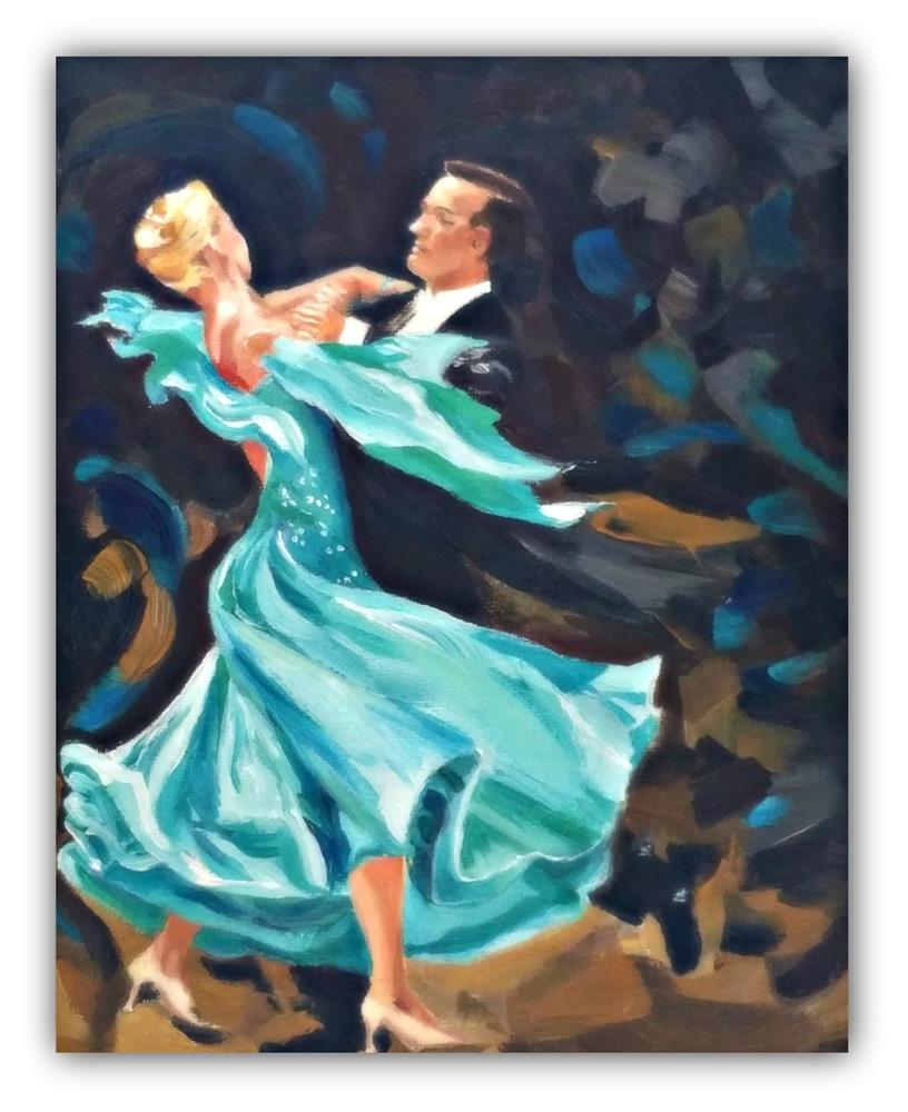 """Dancin"" original fine art by Dana C"