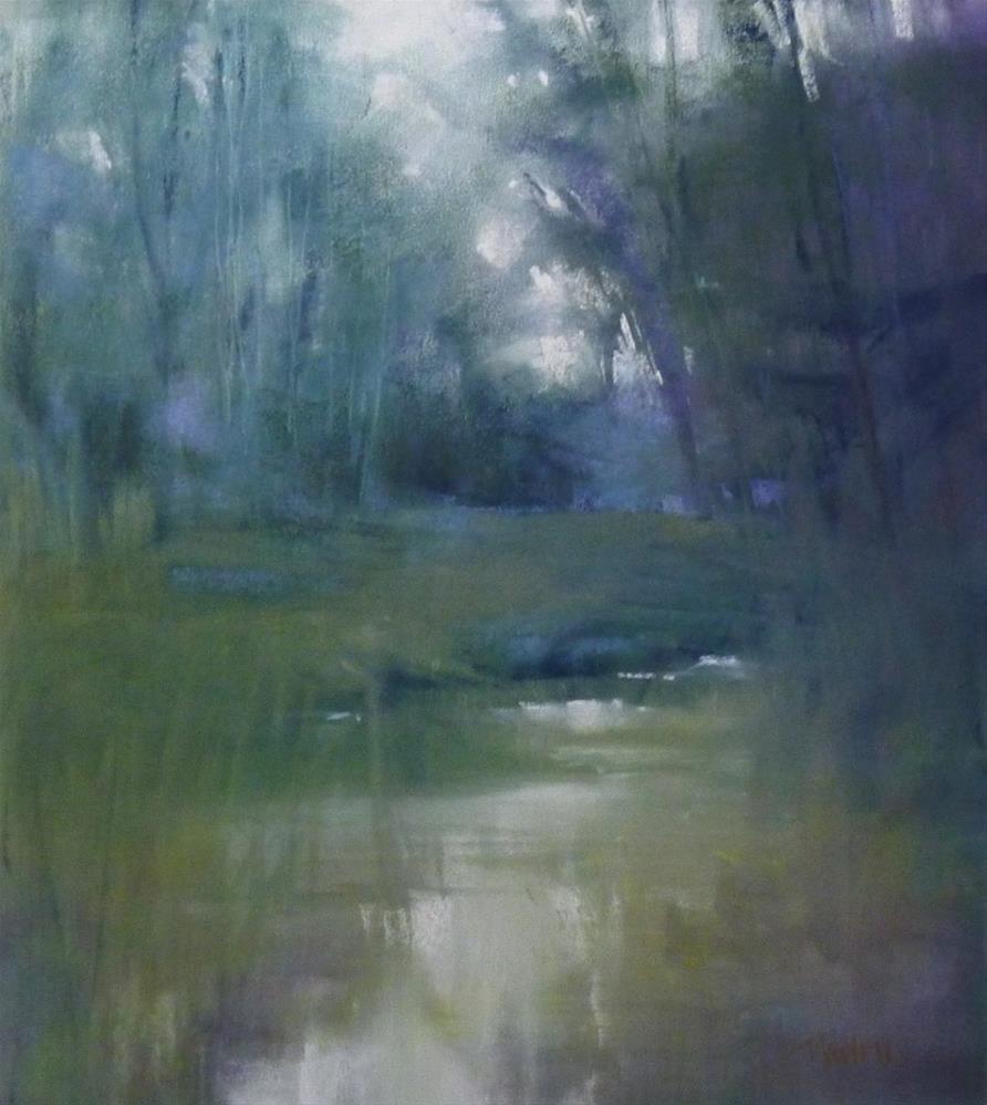 """Shades of Summer"" original fine art by Barbara Benedetti Newton"