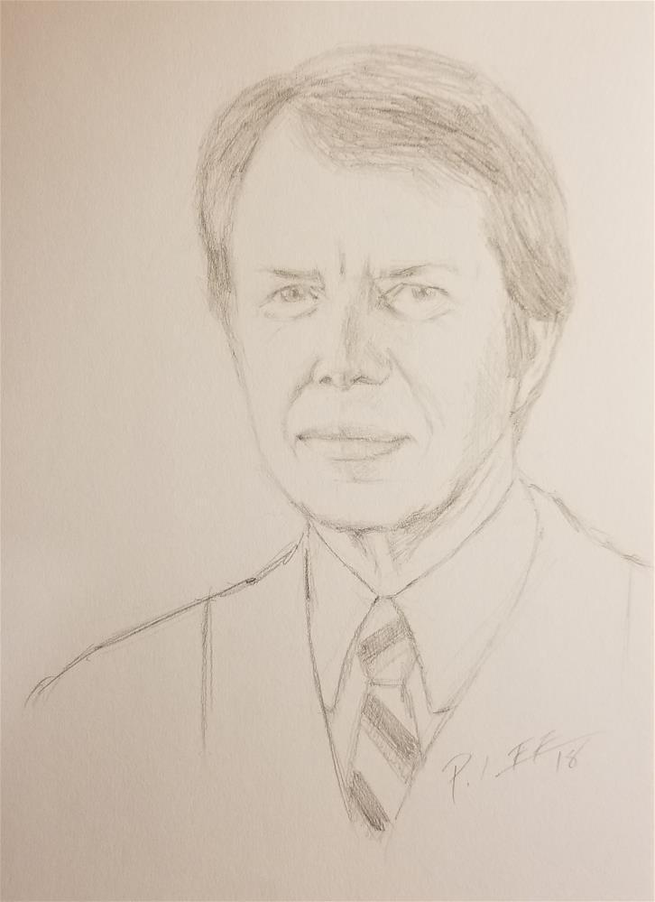 """Jimmy"" original fine art by Peter Lee"