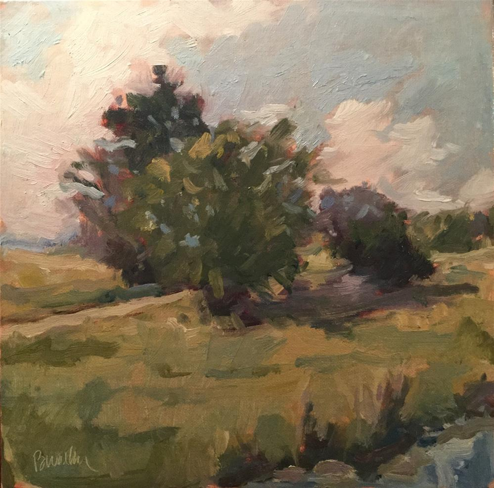 """Creekside"" original fine art by Barb Walker"