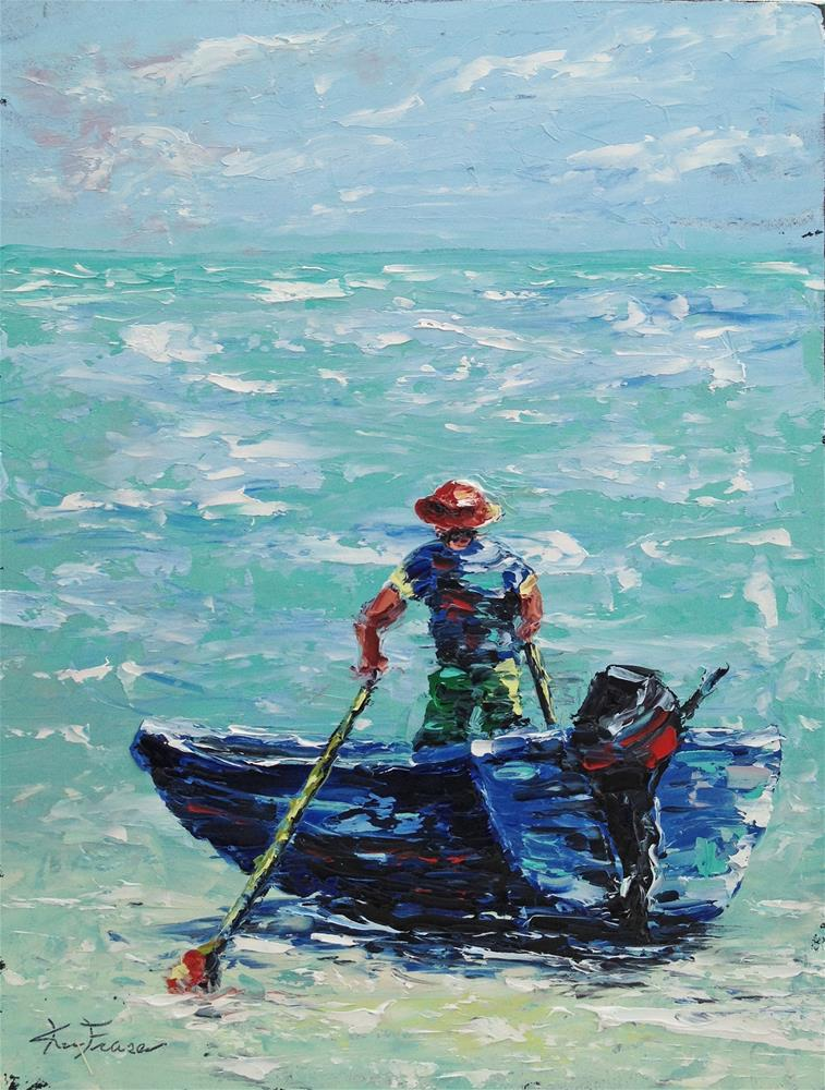 """Sandbar"" original fine art by Ken Fraser"