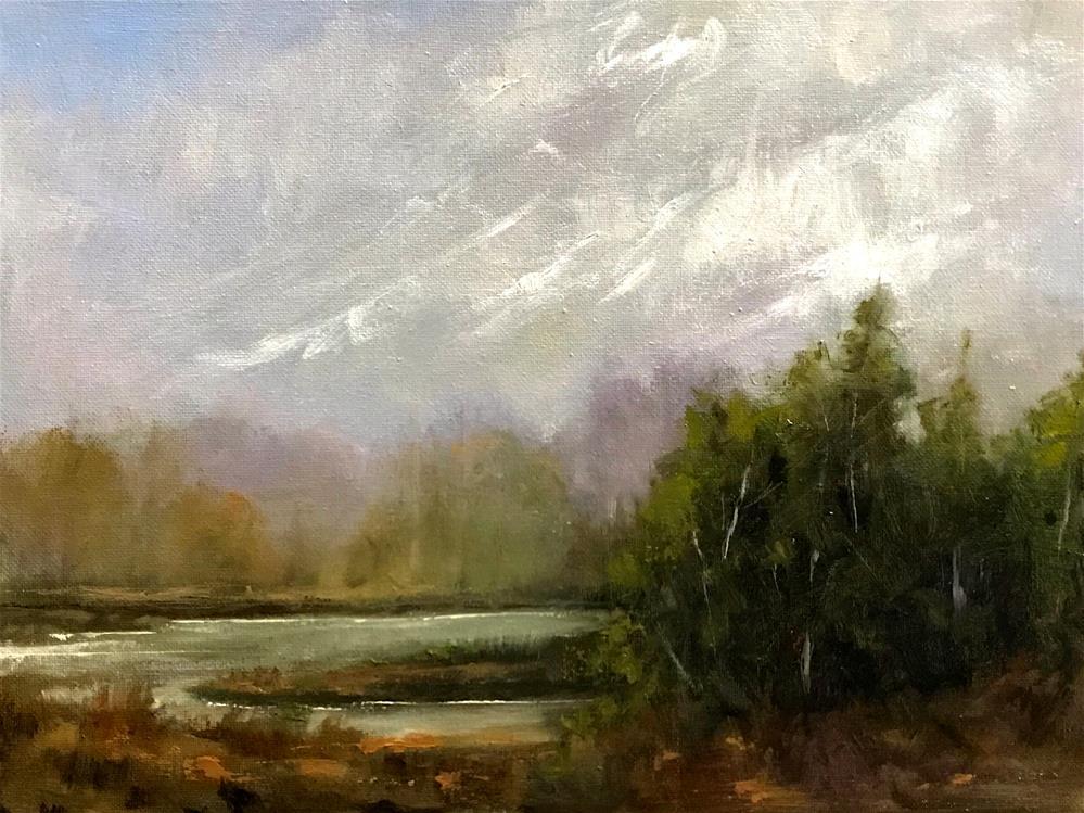 """the cove"" original fine art by Betty Argiros"