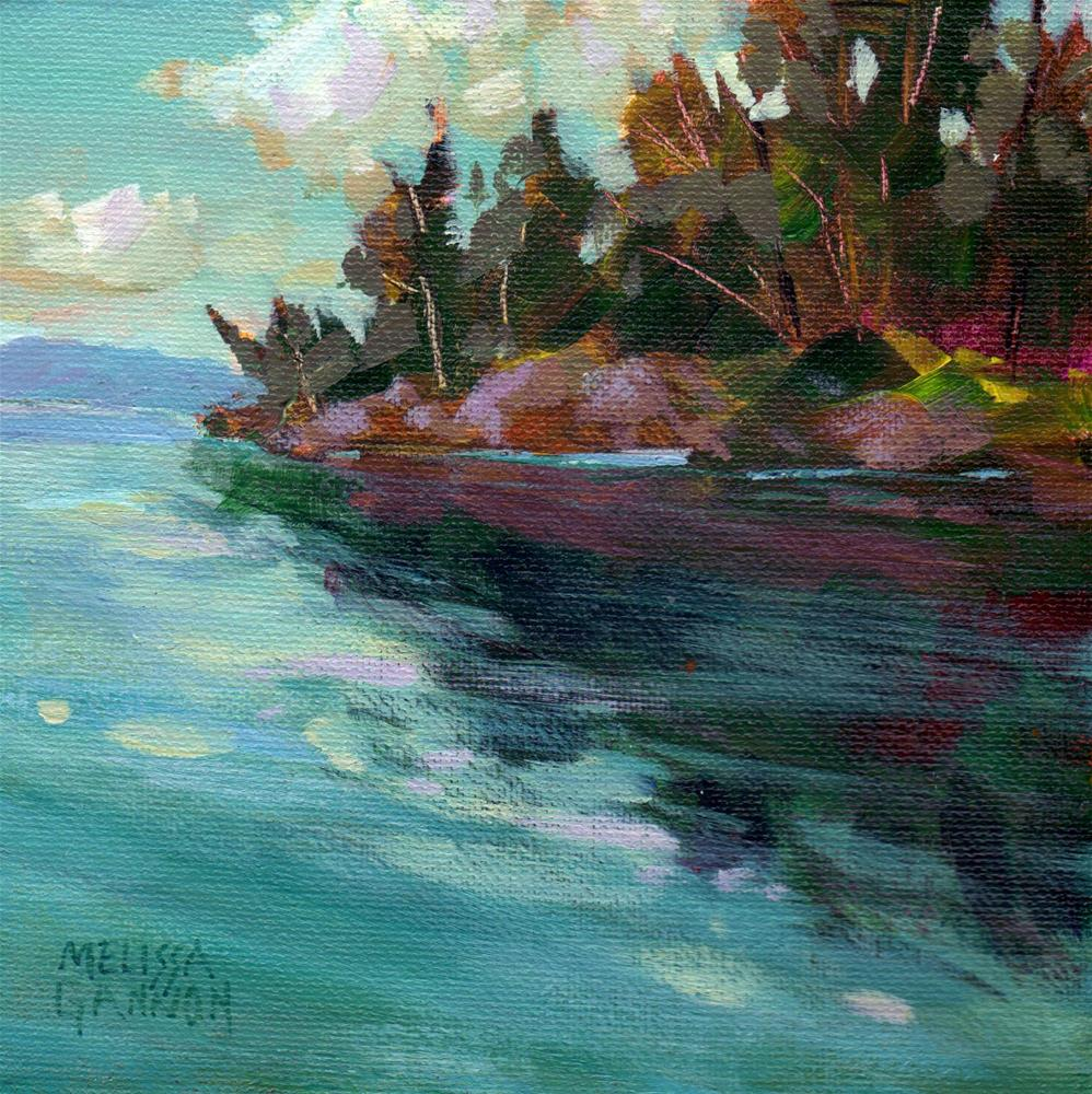 """Lake Tahoe Memories"" original fine art by Melissa Gannon"