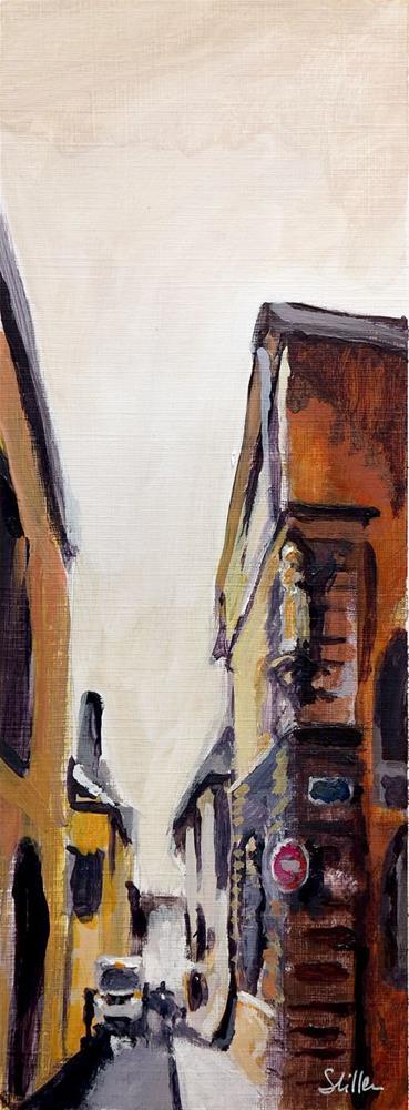 """1922 Saint Entrée"" original fine art by Dietmar Stiller"