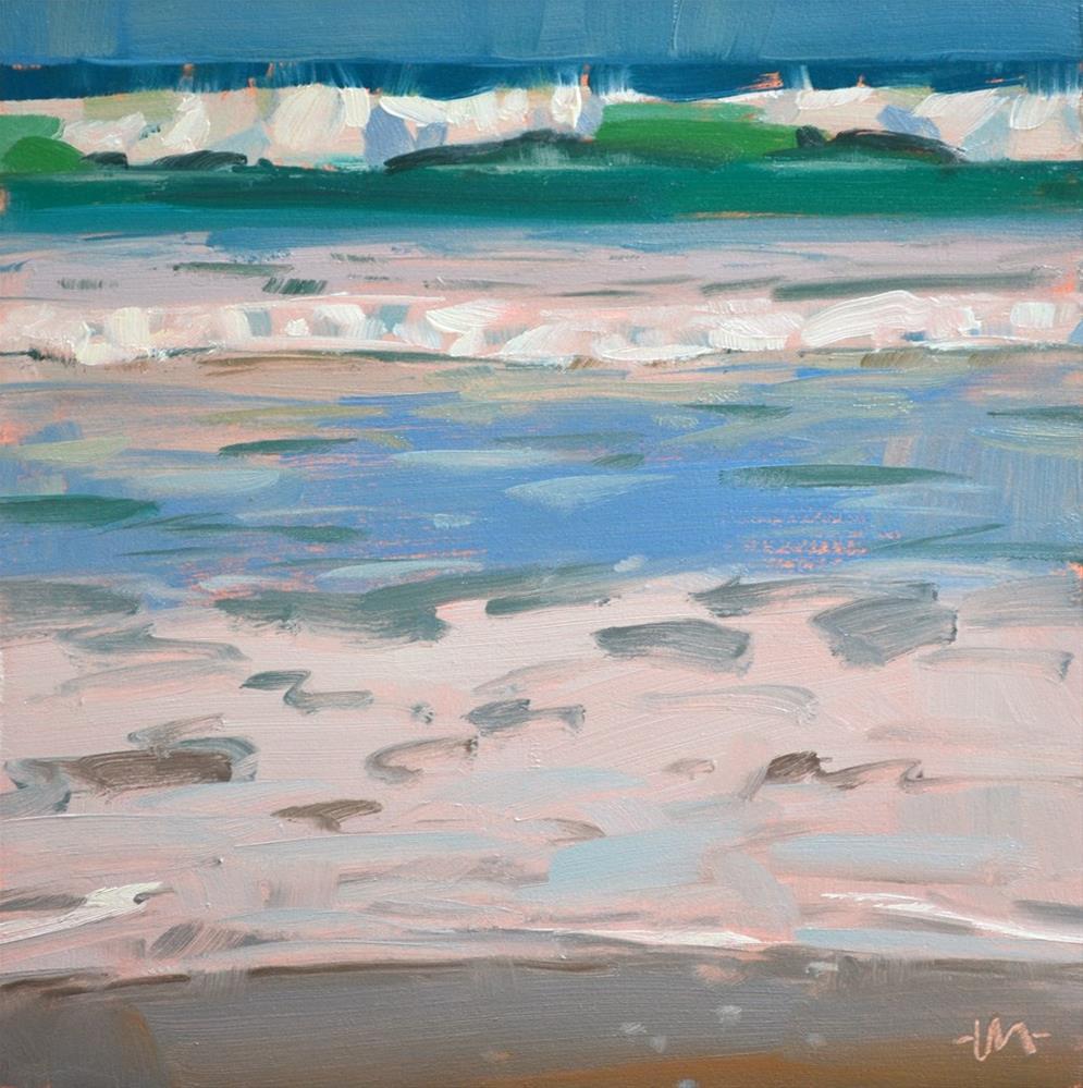 """Sea Slice 2"" original fine art by Carol Marine"