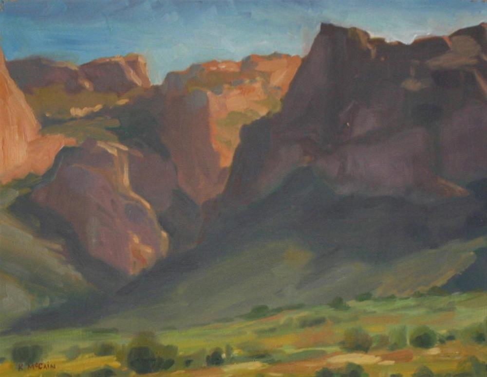 """""""Afternoon Wanderings"""" original fine art by K.R. McCain"""