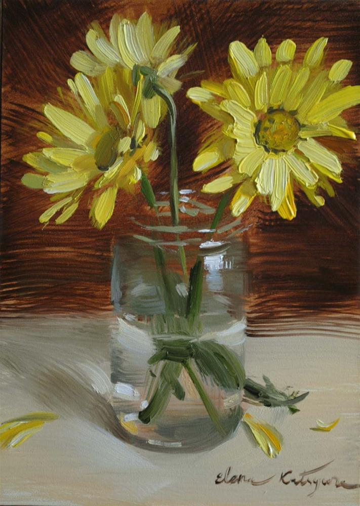 """Sun Petals"" original fine art by Elena Katsyura"