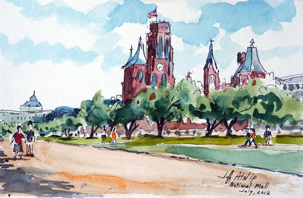 """National Mall"" original fine art by Jeff Atnip"