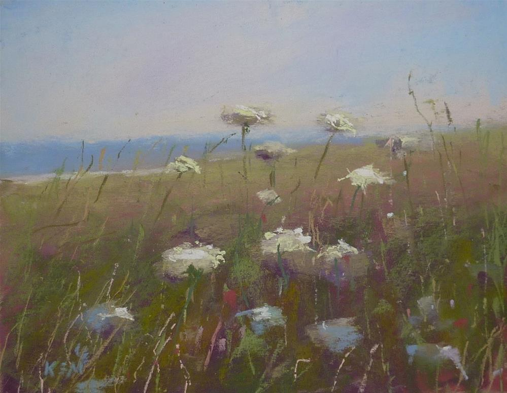 """Breezy Summer"" original fine art by Karen Margulis"