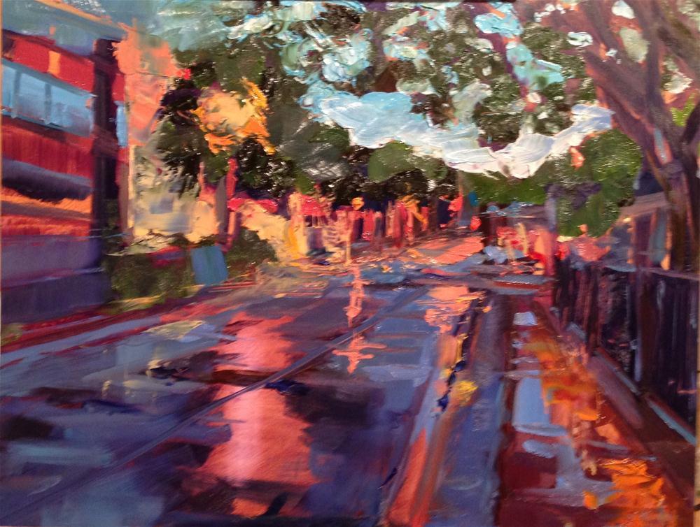 """After the Storm, September"" original fine art by Kelly Alge"