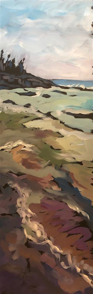 """Water Colors"" original fine art by Kat Corrigan"