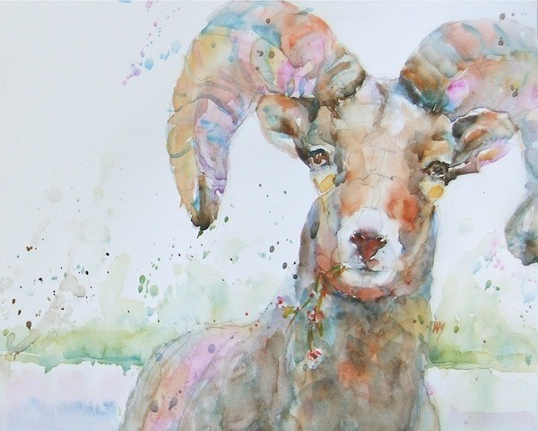 """crackle"" original fine art by Nora MacPhail"
