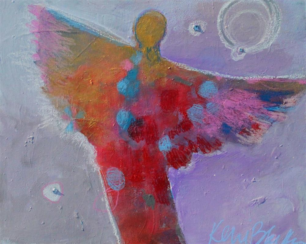 """Soft Wings "" original fine art by Kerri Blackman"