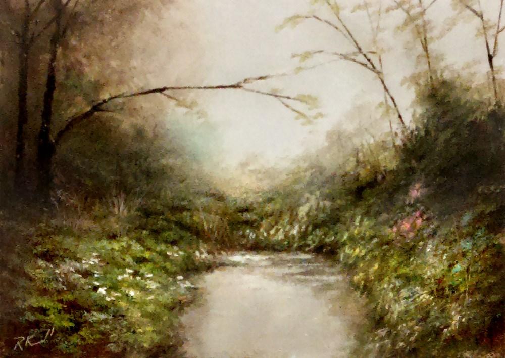 """The Little Cove"" original fine art by Bob Kimball"