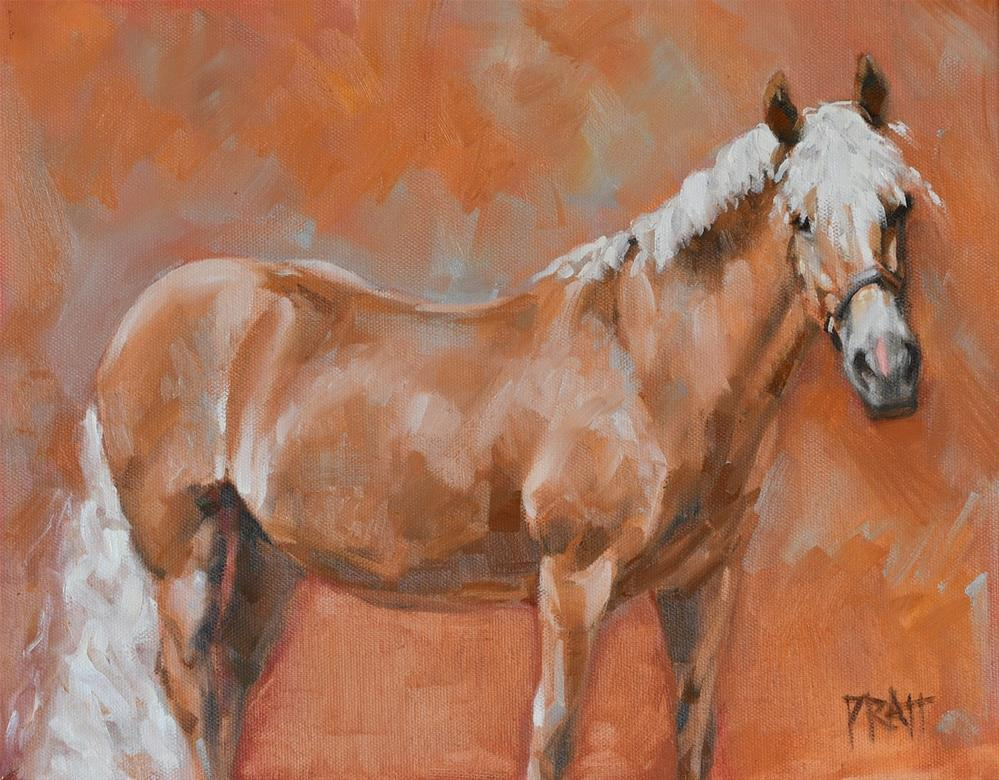 """Everybody Loves Ruby"" original fine art by Jennifer Pratt"