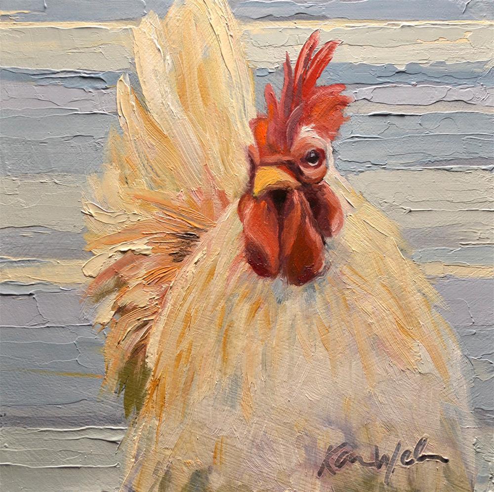 """""""He's All That"""" original fine art by Karen Weber"""
