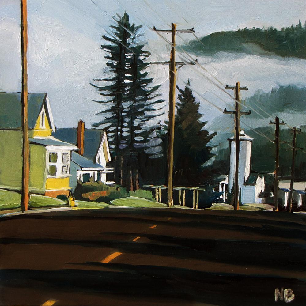 """Monday Morning"" original fine art by Nora Bergman"