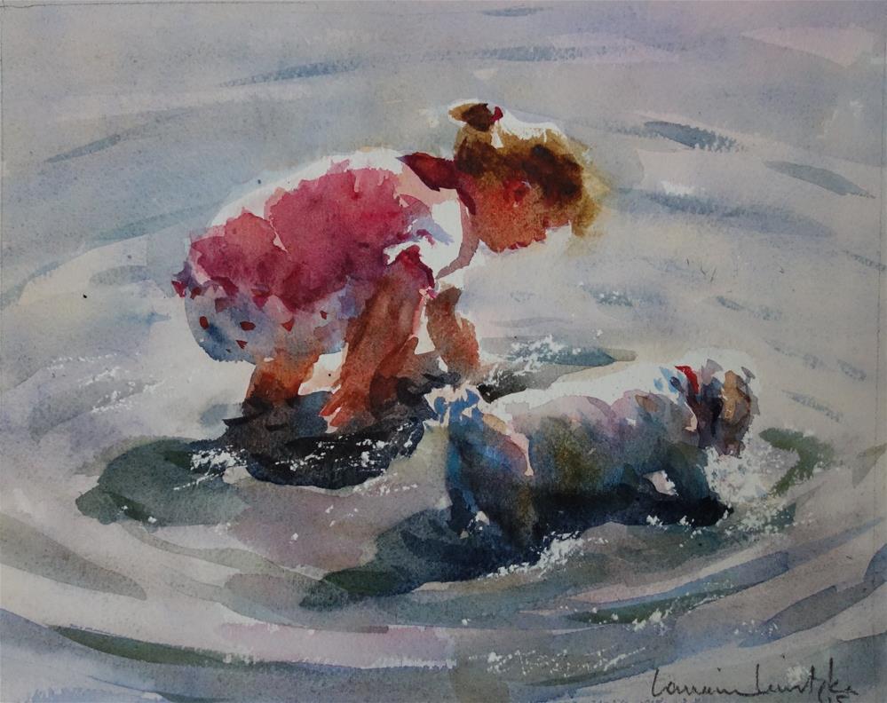 """Treasure Seekers"" original fine art by Lorraine Lewitzka"