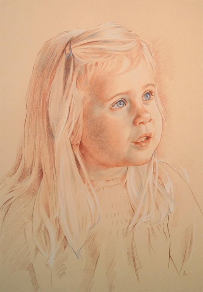 """Vivienne"" original fine art by Connie Nobbe"