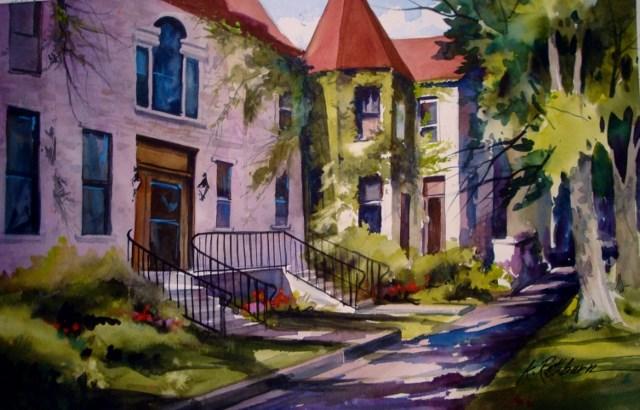 """""""Ivy"""" original fine art by Kathy Los-Rathburn"""