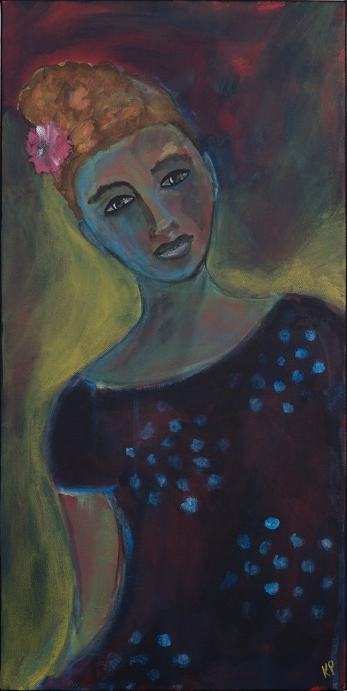 """""""She Shines from Within"""" original fine art by Kali Parsons"""