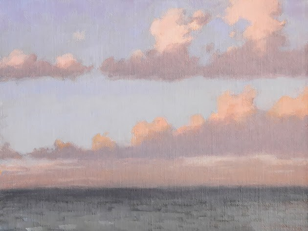 """Sunrise Palette"" original fine art by Susan Matteson"