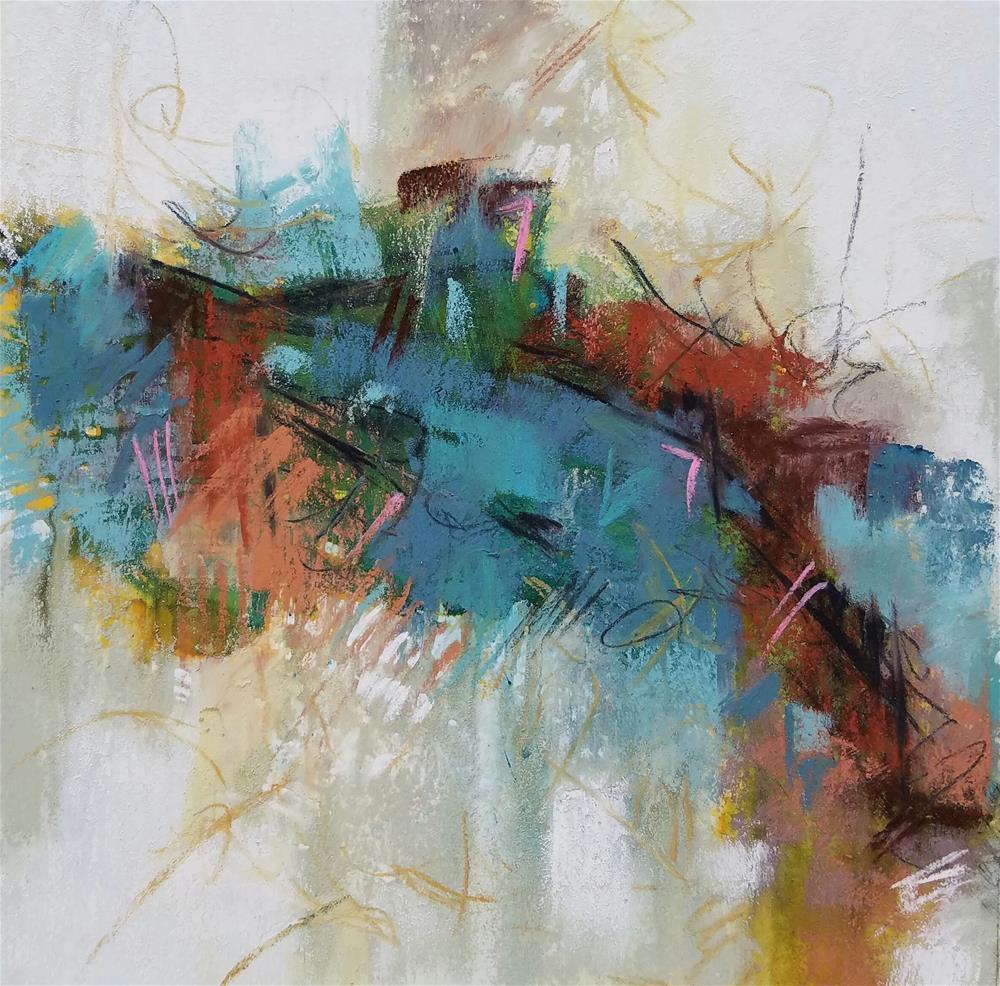 """God's Speed"" original fine art by Cindy Haase"