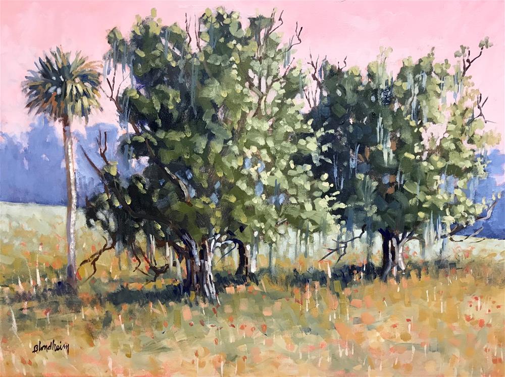 """Fall Farm Field"" original fine art by Linda Blondheim"