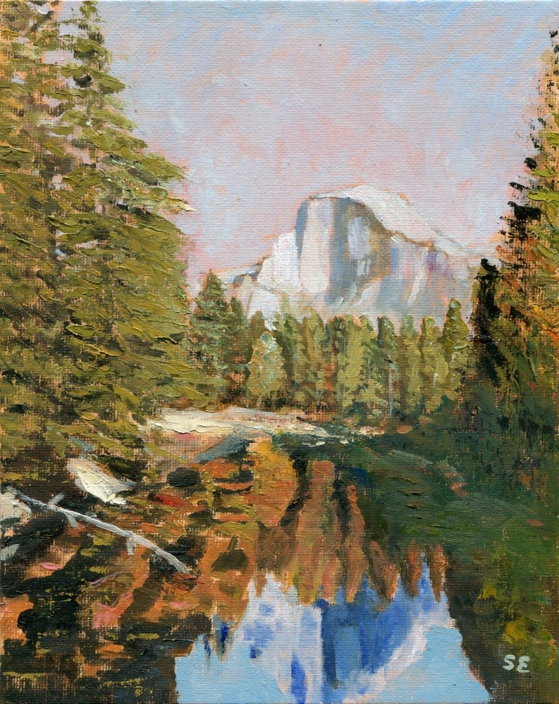 """Half Dome"" original fine art by Stanley Epperson"