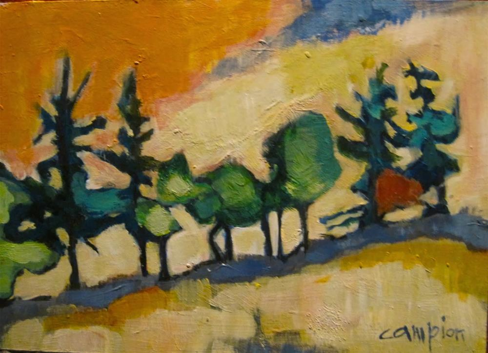 """285. Somewhere in Lebanon"" original fine art by Diane Campion"