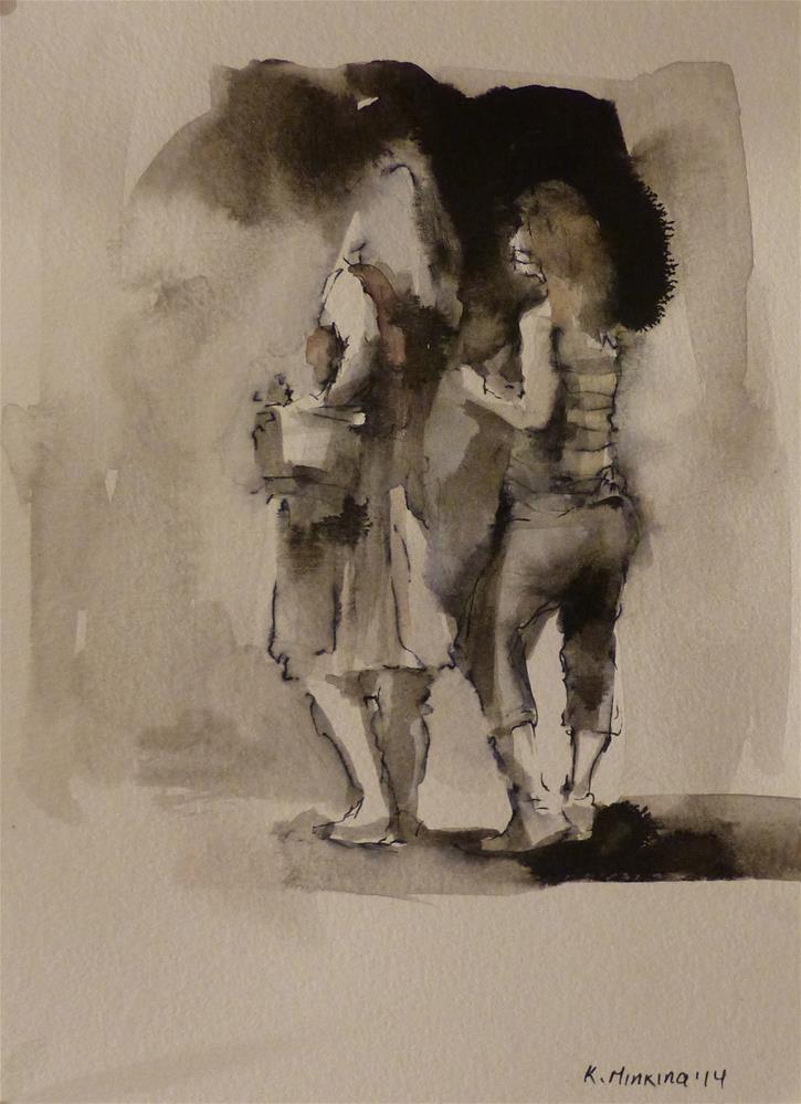 """urban48"" original fine art by Katya Minkina"