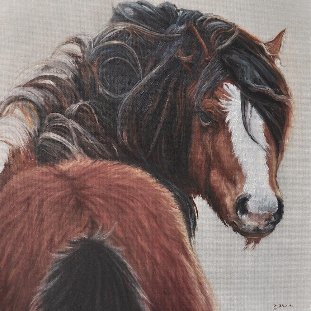 """The Shaggy Pony"" original fine art by Tahirih Goffic"
