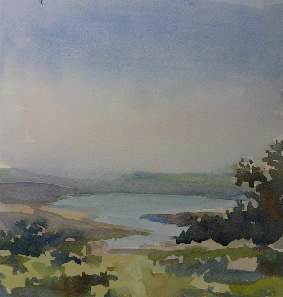"""Pt. Reyes View"" original fine art by angela scully"