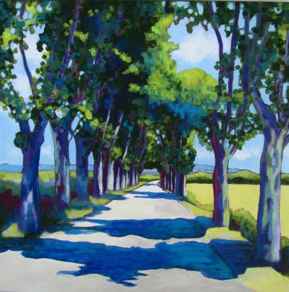"""Summer in Provence"" original fine art by Patricia MacDonald"