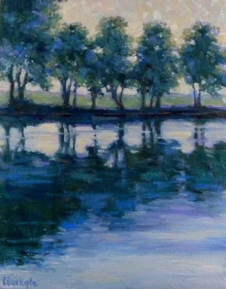 """Dance of Light"" original fine art by Lisa Kyle"
