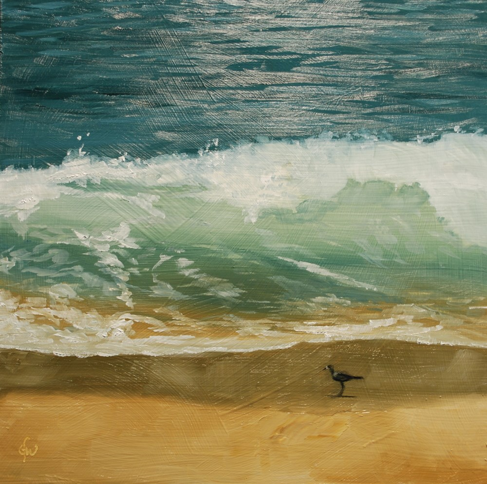 """Surf in Hawaii"" original fine art by Gary Westlake"