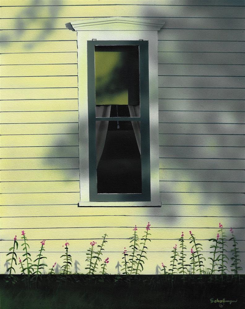 """West Window (Early Evening)"" original fine art by Fred Schollmeyer"
