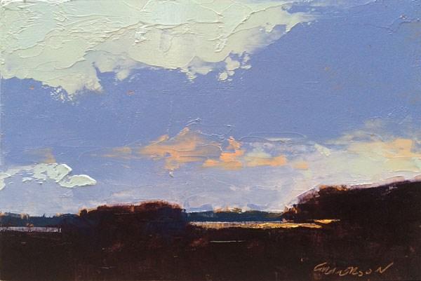 """Edisto Sunset"" original fine art by Mary Gilkerson"