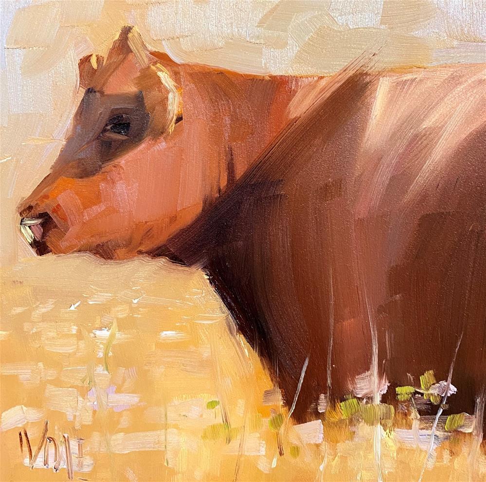 """""""Field of Dreams"""" original fine art by Patty Voje"""