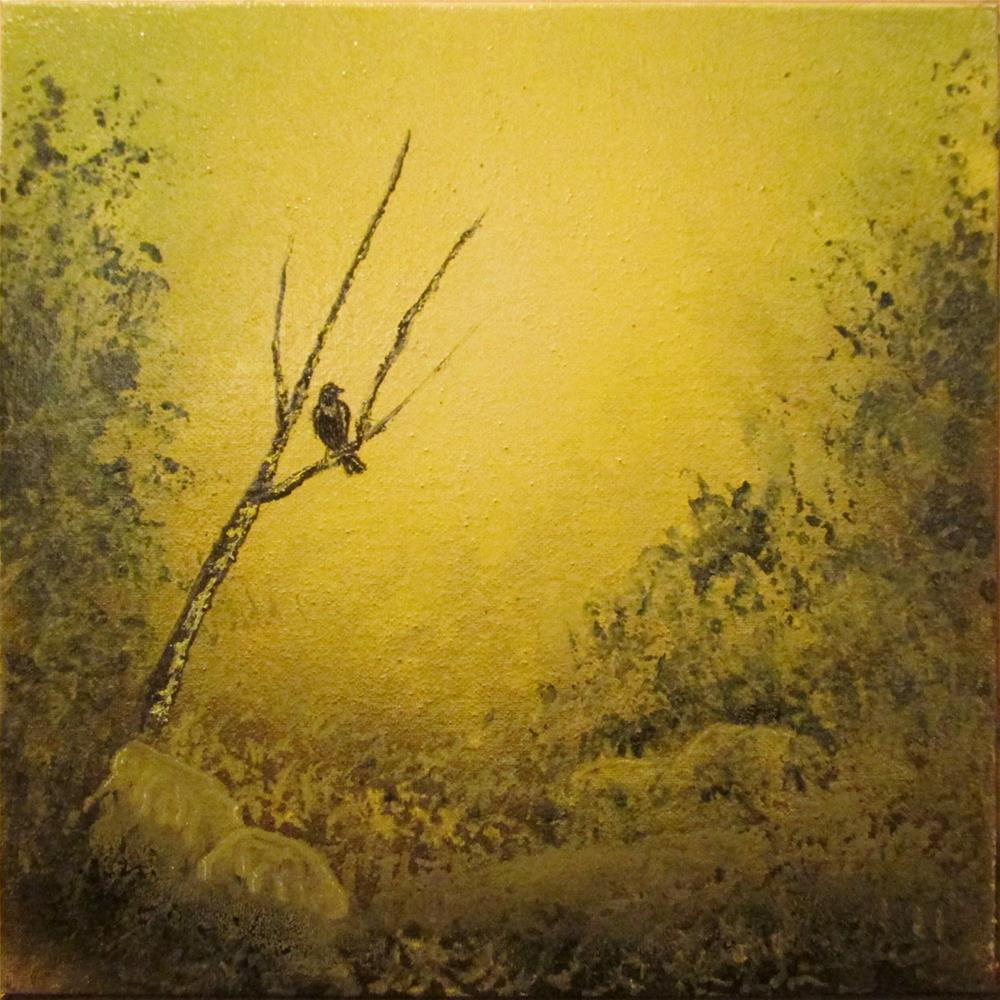 """Anticipation"" original fine art by Mary Sylvia Hines"