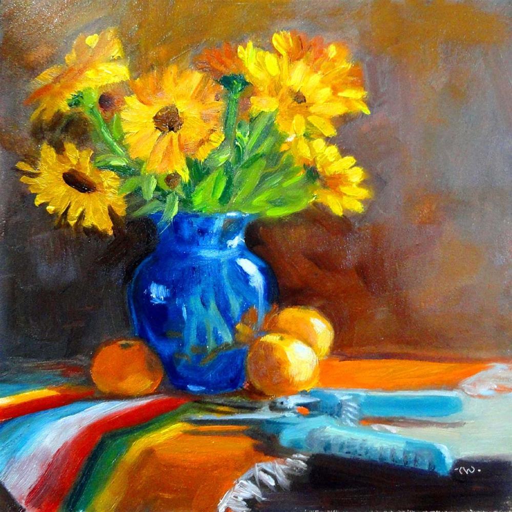 """Instant Gratification"" original fine art by Cietha Wilson"