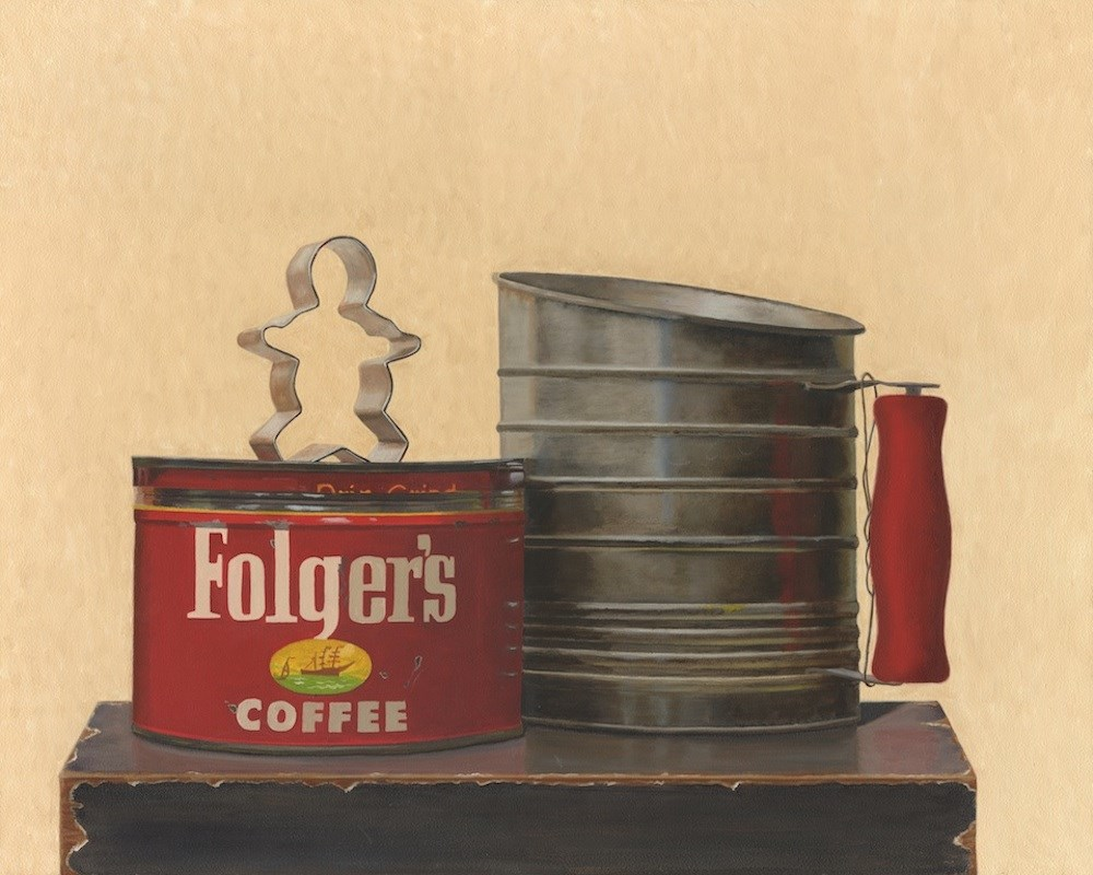 """Folger's"" original fine art by Susan Fern"