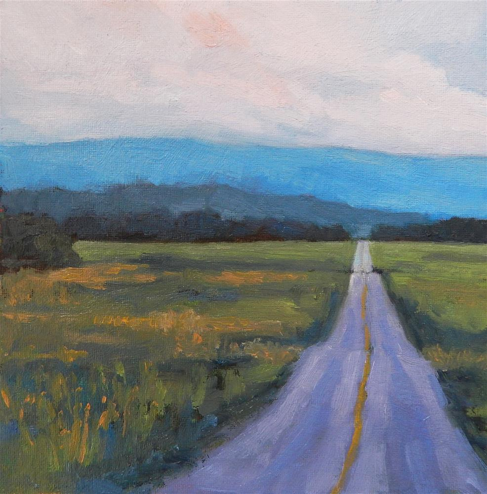 """""""The Road Less Travelled"""" original fine art by Lisa Kyle"""